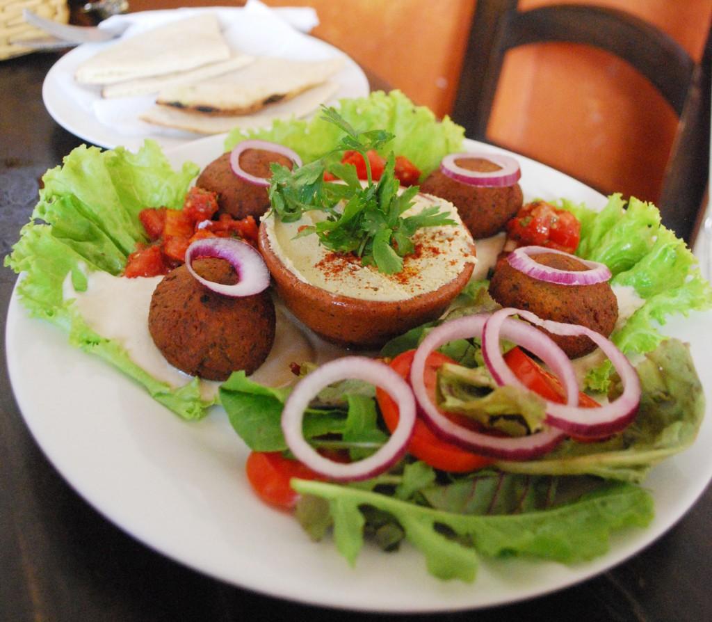 Falafel para menu
