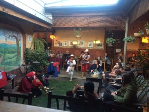 Mayan Dances by indigenous children from Nuevo Amanecer  @ Rainbow Cafe